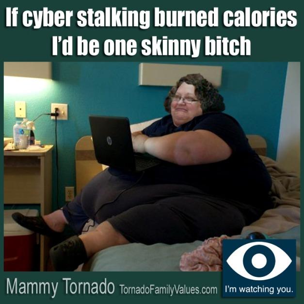 cyber stalking mammy tornado