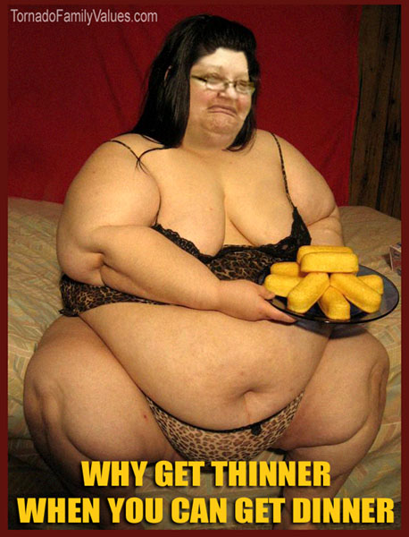 THINNER DINNER MAMMY TORNADO FUPA