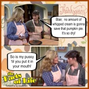 jo blair facts of life thanksgiving pie lesbians
