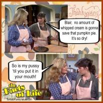 jo blair facts of life thanksgiving pie lesbians