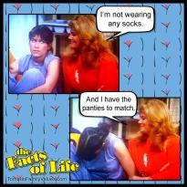jo blair facts of life lesbian gay socks undies