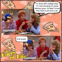 pizza facts of life natalie blair mrs garrett